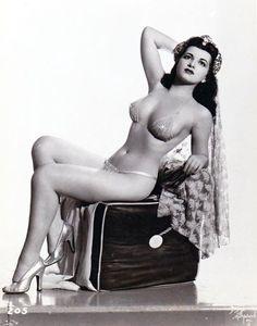 Sherry Britton #burlesque