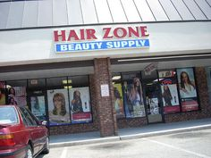 The Hair Zone Beauty Supply store in Newport News, on 11712 Jefferson Ave, in the Oyster Point Square shopping center.     Beautiful body!