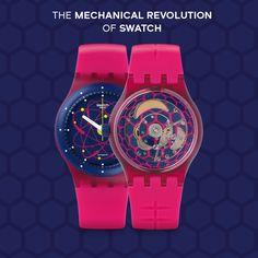 Hem teknoloji harikası hem de hareketli bir sanat eseri! #SISTEM51'in mekanik devrimini Buyaka Swatch mağazası'nda keşfet!
