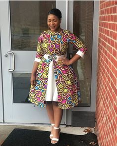 16 Charismatic / Irresistible Ankara Styles For Women - African Fashion Best African Dresses, Latest African Fashion Dresses, African Print Fashion, African Attire, African Fashion Traditional, African Print Dress Designs, Kitenge, Ankara Styles, Fairy Godmother