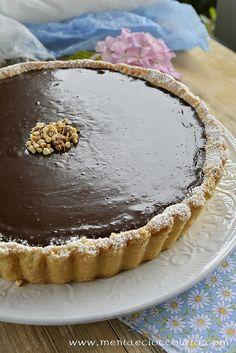 Chocolate and Caramel Tarte by MentaeCioccolato, via Flickr #caramel #chocolate #tarte