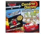 Cenário Disney Carros 2 32 Páginas - com 6 Canetas para Colorir - DCL