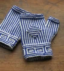 twined-knit fingerless gloves class with Janine Kosel (co-author of Swedish Handknits and Norwegian Handknits), starts Feb 2013 Knitting Kits, Knitting Charts, Loom Knitting, Knitting Stitches, Knitting Socks, Knitting Patterns, Fingerless Gloves Knitted, Knit Mittens, Vogue Knitting