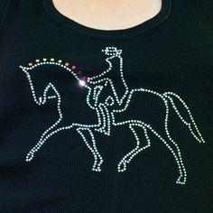 Dressage, equestrian fashion.