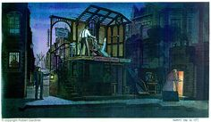 """Robert Gardiner's designs for'Sweeney Todd' at the Frederick Wood Theatre, 1989 """