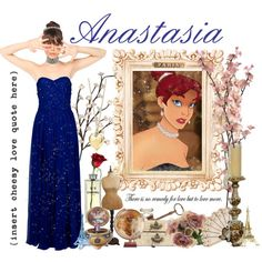 Anastasia's paper doll..., created by xniniboox on Polyvore