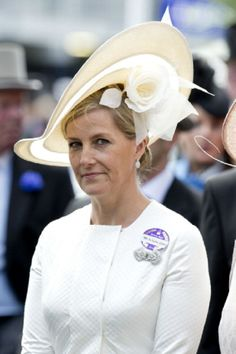 Sophie Countess of Wessex attends Day 2 of Royal Ascot 2014