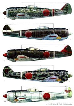 Nakajima Shoki (Tojo) Page Navy Aircraft, Ww2 Aircraft, Fighter Aircraft, Military Aircraft, Luftwaffe, Air Fighter, Ww2 Planes, Aviation Art, Model Airplanes