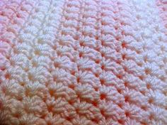 [Free Pattern] Easy And Beautiful Crochet Star Stitch Baby Blanket…