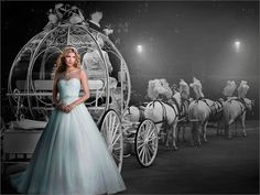 Cinderella. Get Disney Princess style with the 2015 Alfred Angelo collection. Each gown is available in ivory too!