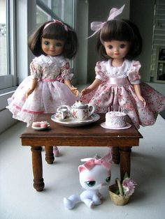 Two Tiny Betsy McCall dolls!