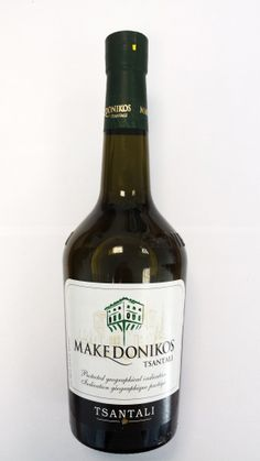 Makedonikos Wine, red and white are both great.