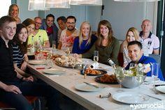 Een #yourselfie kan natuurlijk niet ontbreken bij een teamlunch en -meeting!