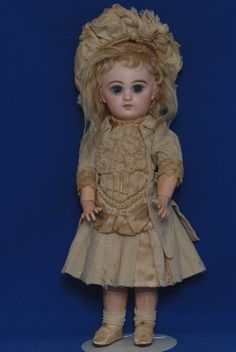 Antique french Tete Jumeau bebe