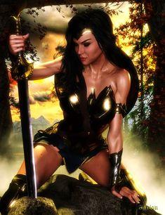 Wonder Woman 2018 by Agr1on