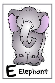 A-Z zoo animals Preschool Unit Ideas along with free coloring pages, flash cards and tracing pages!  welovebeingmoms.blogspot.com  #preschool #printables #ABC's