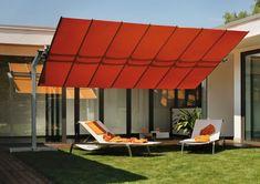 FLEXY Retractable Modular Shade Solution Umbrella - providing Outdoor Shade for home backyard - offered by