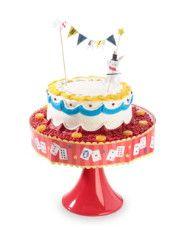 magic cake topper & wrapper set