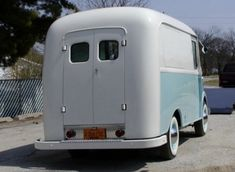 1959 International Harverster Metro Van Restored Ice Cream Truck For Sale Rear
