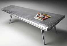 Airplane Wing Coffee Table - 401572070000ff