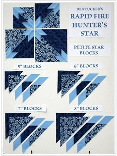 Rapid Fire Hunters Star Ruler - 7 Easy Steps - Heirloom Creations Video tutorial shows how use ruler. Had demo at quilt club on Deb Tuckers rulers. Billedresultat for free hunters star quilt pattern instructions diamonds to be found when using the Rapid Star Quilt Blocks, Star Quilt Patterns, Star Quilts, Pattern Blocks, Missouri Star Quilt Pattern, Quilting Tutorials, Quilting Designs, Quilting Tips, Paper Piecing