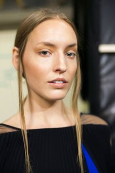 Pin for Later: Every Haute Hair and Makeup Trend From Paris Fashion Week Talbot Runhof Spring 2016