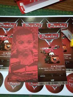 Papelaria Aniversário Infantil | Carros Disney