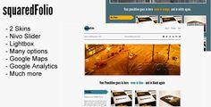 Squared Folio Tumblr Portfolio Theme $20