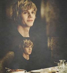 Tate's naughty kid face
