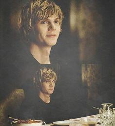Tate's naughty kid face