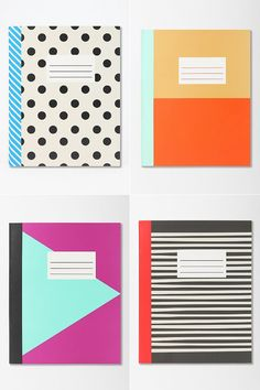 notebooks from Urban Outfitters