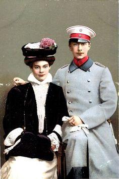 Berlin, Kronprinzenpaar 1906.