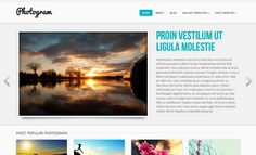 Integrate your WordPress site with Picasa and Pinterest in a few simple clicks. Share your photographs online and present them in the best way possible.