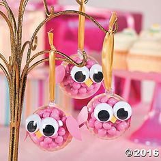 Owl Baby Shower Favors Idea or decor for tree