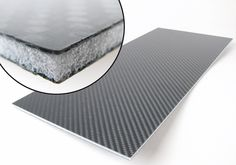 Carbon fibre sandwich sheet with Airex® core, different size | R&G Faserverbundwerkstoffe GmbH - Composite Technology