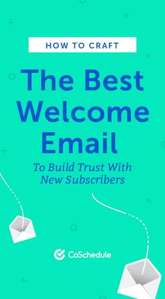 How to write the best welcome email to build trust with new subscribers. Free Email Marketing, Content Marketing Strategy, Marketing Tools, Social Media Marketing, Cold Email, Welcome Emails, Marketing Calendar, Plus 4, Scott Cohen