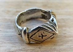 Ring old tribal ring old Berber ring old by AnticsEthnics