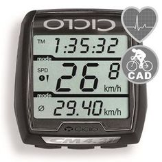 Ciclo Sport CM 4.21 with optional Heartrate and Cadence