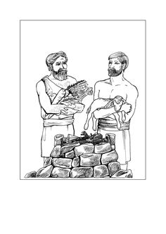 3. Cain & Abel lesson(Eng)_006 Cain And Abel, Sunday School Lessons, Youth Ministry, Adam And Eve, Crafts For Kids, Rock, Memes, Adam An Eve, Crafts For Children