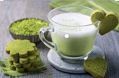 Containing the highest quality Matcha Green Tea powder, our Matcha Latte bl… - Healthy Food Green Tea Macarons, Vegan Gluten Free, Dairy Free, Paleo, Smoothies, Marinated Vegetables, Moringa Powder, Green Tea Ice Cream, Matcha Green Tea Powder
