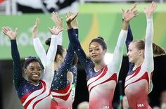 Women's Olympic gymnastics: USA win gold in team final – as it happened | Sport | The Guardian