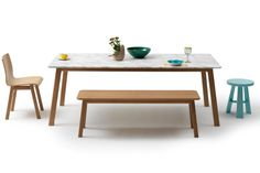 Navy Dining Table by #Jardan