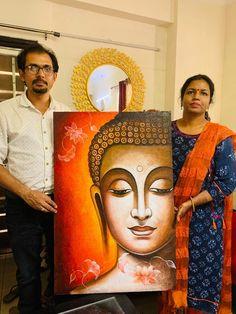 Art Drawings Beautiful, Cool Art Drawings, Buda Painting, Buddha Artwork, Buddha Canvas, African Art Paintings, Arte Country, Art Painting Gallery, Buddhist Art