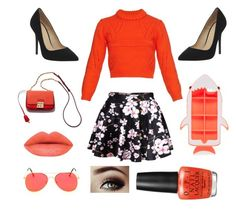 """""""Going to a Park"""" by froggish2005 ❤ liked on Polyvore featuring TIBI, Office, STELLA McCARTNEY and OPI"""