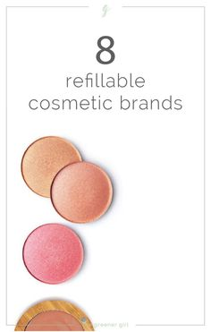 Clean and cruelty-free cosmetic brands that offer refills! These brands have created innovative systems to reduce packaging, costs, and resources by allowing consumers to refill the compacts they already own instead of purchasing new ones. Clean Beauty, Diy Beauty, Beauty Hacks, Beauty Care, Cruelty Free Cosmetics Brands, Eco Friendly Makeup, Non Toxic Makeup, Organic Essential Oils, Free Makeup