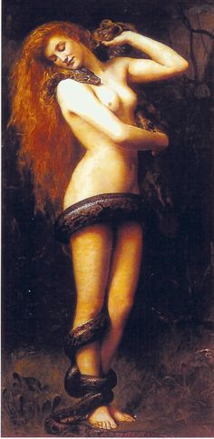 Lilith (John Collier, 1892, oil on canvas)