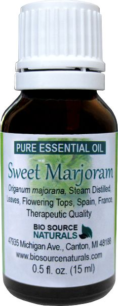 Sweet Marjoram Essential Oil Uses and Benefits in aromatherapy include bruises, colds, rheumatism, intestinal cramps, menstrual problems, anxiety, insomnia.