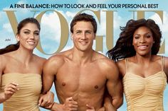 Summer Olympics 2012- Hope Solo (Soccer), Ryan Lochte (Swimming), and Venus Williams (Tennis)