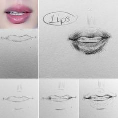 Kpop Drawings, Pencil Art Drawings, Realistic Drawings, Art Sketches, Nose Drawing, Human Drawing, Guy Drawing, Sketches Tutorial, Acrylic Painting Techniques