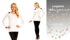 Die neue Herbstkollektion ist da, entdecke jetzt die neuen Longshirts, auf zarima.de!